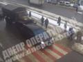 В Днепре военный грузовик Урал протаранил Porsche Cayenne