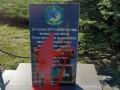 В Лисичанске вандалы осквернили памятник героям ВСУ