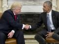 Обама 1,5 часа разговаривал с Трампом в Белом доме