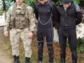 Пограничники задержали закарпатских водолазов-контрабандистов