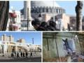 День в фото: Взрыв в Стамбуле, сосульки в Китае и ЧП в Мариуполе