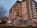 В Ижевске обвалилась часть многоэтажного дома