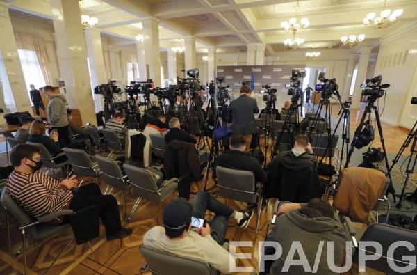 Украинские журналисты заявляют о сокращении