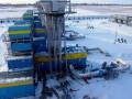 Запасы газа в газохранилищах Украины упали