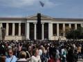 Греки пришли накормить бедствующую семью главы Минфина - агентство