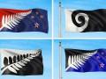 В конкурсе на новый флаг Новой Зеландии выбрали четыре финалиста