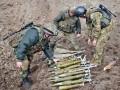 Как украинские саперы разминируют Трехизбенку