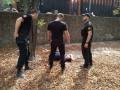 Карма: вор-домушник сломал ногу, убегая от преследования в Одессе