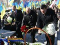 Лидеры оппозиции вместе почтили память Шевченко