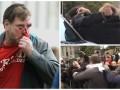 Сторонники и противники Трампа подрались до крови: видео потасовки