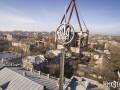 В Николаеве на здании горсовета звезду заменили на герб Украины