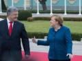 В Киеве Меркель заговорила на украинском