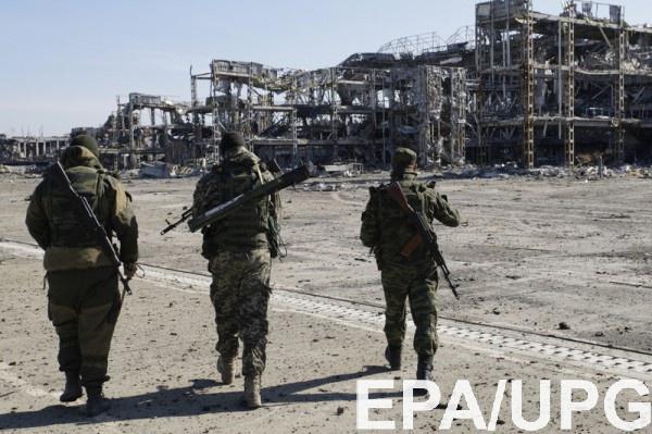 Спикера спросили, действительно ли украинские военные взяли под контроль посадочную полосу донецкого аэропорта