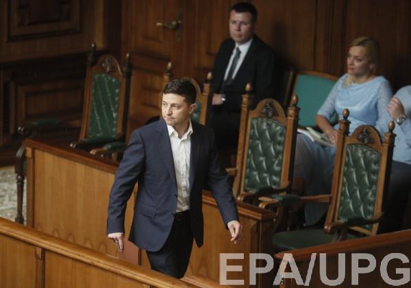 О решении распустить парламент президент объявил сразу после инаугурации
