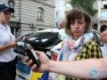В Одессе пьяная на Jaguar разбила пять иномарок