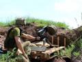 На Донбассе за сутки ранен один боец