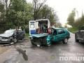Под Черновцами столкнулись три авто: пятеро пострадавших