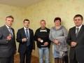 В Сумах после 20 лет ожидания получили квартиры 60 семей чернобыльцев