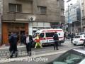 В центре Белграда прогремел взрыв