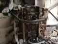В Киеве вандалы сожгли подъемники для людей с инвалидностью
