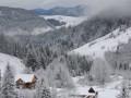 В Карпатах выпало полтора метра снега