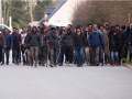 Во Франции 50 мигрантов забросали полицию камнями