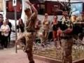 Киевлян позабавил танец солдата НАТО под волынку