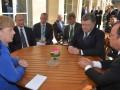 Меркель пригласила Порошенко, Олланда и Путина на ужин