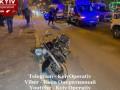 В Киеве силовик на мотоцикле отправил пешеходов в больницу