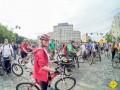 Центр Киева заполнили сотни велосипедистов