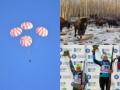 Хорошие новости: обед канадских бизонов, космические парашюты и серебро украинской биатлонистки
