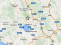 В центре Италии произошло землетрясение