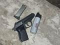 В Запорожье пьяный мужчина устроил стрельбу из пистолета