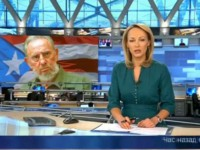 Российские журналисты опозорились в эфире с флагом Кубы