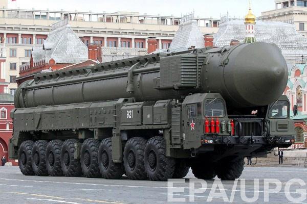 В РФ на вооружении около 70 ракет Тополь