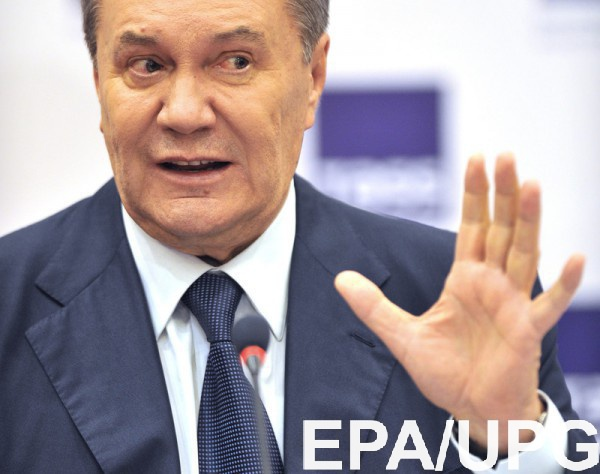 Януковича разрешили заключать под стражу