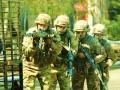 Спецназовцы отразили нападение диверсантов на военный объект в ходе учений