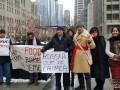 В Чикаго и Москве протестовали против оккупации Крыма