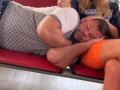 В Сети опубликовано фото спящего Богдана в аэропорту после свадьбы в Сен-Тропе