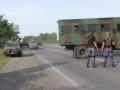В район Мукачево прибыла колонна военной техники