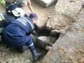 В Каменце-Подольском на прохожего упала бетонная плита