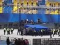 На НСК Олимпийский разобрали одну из сцен