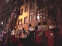 Пожар в центре Киева удалось локализовать