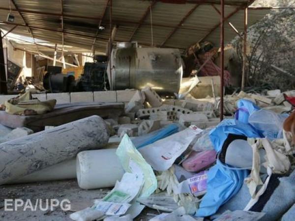 Песков отверг обвинения в причастности РФ к разрушению госпиталя в Сирии