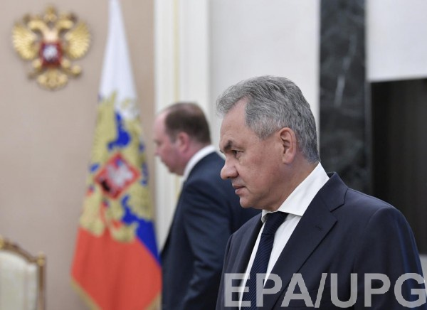 Шойгу рассказал, что надеется на мир с Украиной