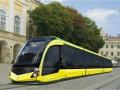 Львовский концерн презентовал первый отечественный трамвай с низким полом