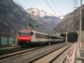В Швейцарии заработал самый длинный в мире тоннель