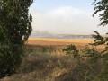 Пожар под Мариуполем считают поджогом