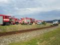 В Чехии столкнулись два поезда