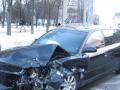 В Харькове грабители во время побега с сумкoй денег попали в ДТП